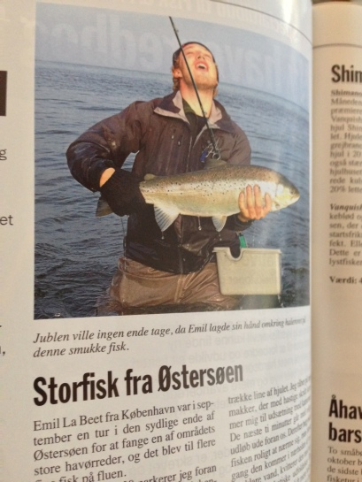 """The title says: """"Storfisk fra Østersøen"""" in danish which means, Big game from the Baltic Sea."""